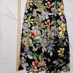 Rags and Couture Dresses - Rags And Couture Maxi Dress Black Floral Print XL